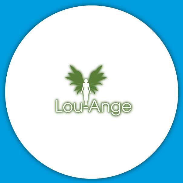 Lou-ange - Conception d'un logo